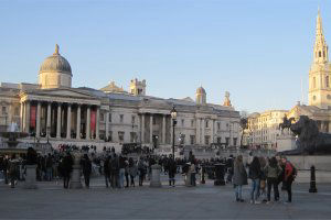 Trafalgar Square treasure hunt by Treasure Hunts In London